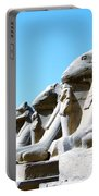 Karnak Temple Statue 14 Portable Battery Charger