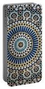 Kasbah Of Thamiel Glaoui Zellij Tilework Detail  Portable Battery Charger