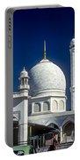 Kashmir Mosque Portable Battery Charger by Steve Harrington