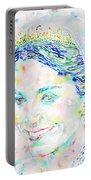 Kate Middleton Portrait.2 Portable Battery Charger