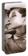Katherine Hepburn Portable Battery Charger