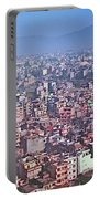 Kathmandu From The Airplane-nepal  Portable Battery Charger