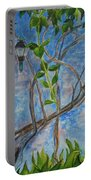Kathy's Wall And Vine Portable Battery Charger