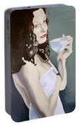 Katie - Morning Cup Of Tea Portable Battery Charger
