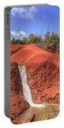 Kauai Red Dirt Waterfall Portable Battery Charger