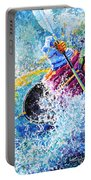 Kayak Crush Portable Battery Charger by Hanne Lore Koehler