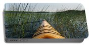 Kayaking Through Reeds Bwca Portable Battery Charger