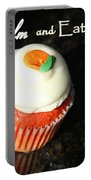 Keep Calm And Eat A Cupcake Portable Battery Charger