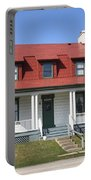 Keeper's House - Presque Isle Light Michigan Portable Battery Charger