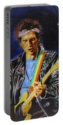 Keith Richards Of Rolling Stones Portable Battery Charger