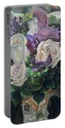 Kelly's Bridal Bouquet Portable Battery Charger