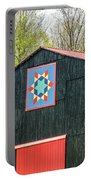 Kentucky Barn Quilt - 2 Portable Battery Charger