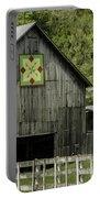 Kentucky Barn Quilt - 3 Portable Battery Charger