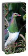 Kerehu - New Zealand Wood Pigeon Portable Battery Charger