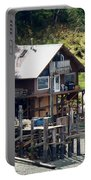Ketchikan Buildings With Character 2 Portable Battery Charger
