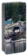 Ketchikan Buildings With Character 1 Portable Battery Charger