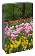 Keukenhof Gardens Panoramic 15 Portable Battery Charger