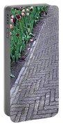 Keukenhof Gardens Panoramic 24 Portable Battery Charger