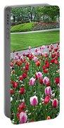 Keukenhof Gardens Panoramic 49 Portable Battery Charger