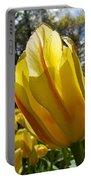 Keukenhof Yellow Tulips Portable Battery Charger