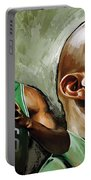 Kevin Garnett Artwork 1 Portable Battery Charger