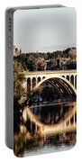 Key Bridge And Georgetown University Washington Dc Portable Battery Charger
