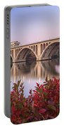 Graceful Feeling - Washington Dc Key Bridge Portable Battery Charger