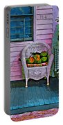 Key West Coconuts - Colorful House Porch Portable Battery Charger