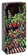 Key West Garden Club Pots Portable Battery Charger