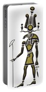 Khensu - God Of Ancient Egypt Portable Battery Charger