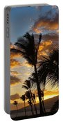 Kihei At Dusk Portable Battery Charger