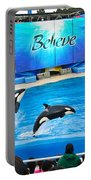 Killer Whales Perform In Shamu Stadium At Seaworld. Portable Battery Charger