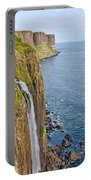 Kilt Rock Waterfall Portable Battery Charger