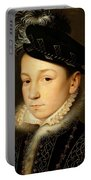 King Charles Ix Of France Portable Battery Charger