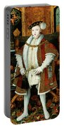 King Edward Vi Of England King Portable Battery Charger