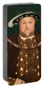 King Henry Viii Portable Battery Charger