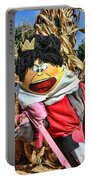 King Of Hearts Scarecrow By Diana Sainz Portable Battery Charger