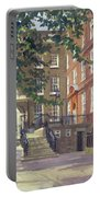 Kings Bench Walk, Inner Temple Oil On Canvas Portable Battery Charger