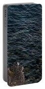 Seagulls At Cliffs Ready To Fish In Mediterranean Sea - Kings Of The World Portable Battery Charger