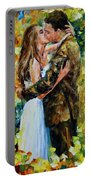Kiss In The Woods Portable Battery Charger