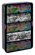 Kiss Me Hot Stuf Poster Portable Battery Charger