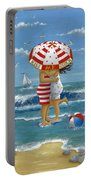 Kiss Me Quick Portable Battery Charger
