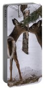 Kissing Deer Portable Battery Charger