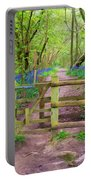 Kissing Gate Painting. Portable Battery Charger