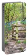 Kissing Gate Watercolour Portable Battery Charger