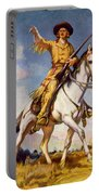 Kit Carson American Frontiersman Portable Battery Charger