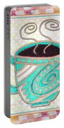 Kitchen Cuisine Hot Cuppa Aqua By Romi And Megan Portable Battery Charger