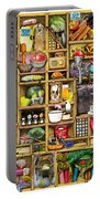 Kitchen Cupboard Portable Battery Charger by Colin Thompson