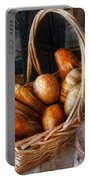 Kitchen - Food - Bread - Fresh Bread  Portable Battery Charger by Mike Savad