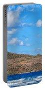 Kitesurfer 02 Portable Battery Charger by Antony McAulay